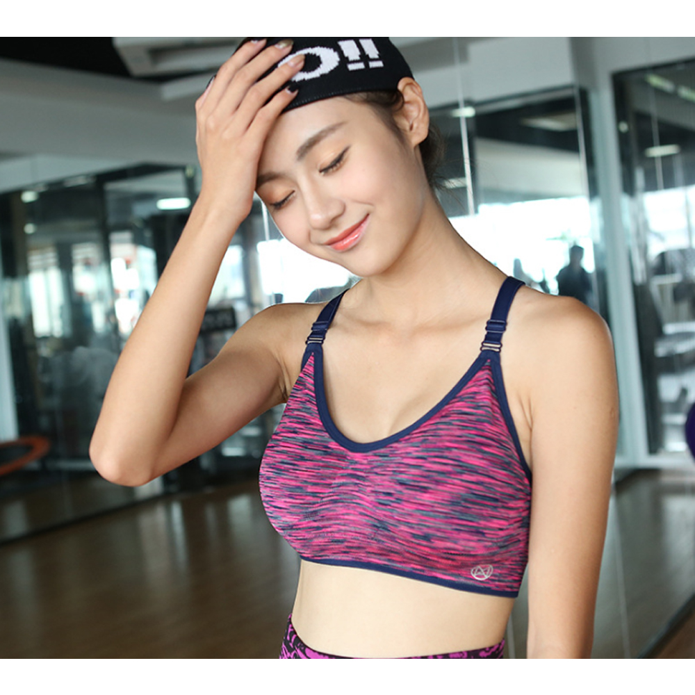 Women Fitness Sport Bra Gym Yoga Vest