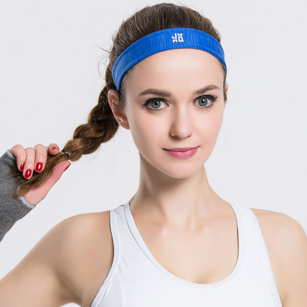 Sports Elastic Hair Band Jogging Gym Yoga Women Men Head Band
